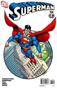 Cover Thumbnail for Superman (DC, 2006 series) #714 [10 for 1 Variant]