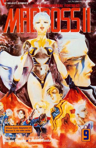 Cover for Macross II (Viz, 1992 series) #9