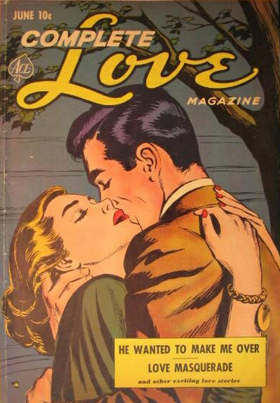 Cover for Complete Love Magazine (Ace Magazines, 1951 series) #v27#2 [164]