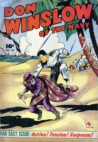Cover for Don Winslow of the Navy (Export Publishing, 1948 series) #56