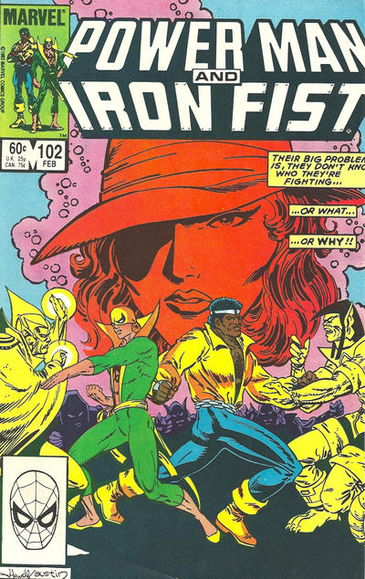 Cover for Power Man and Iron Fist (Marvel, 1981 series) #102 [Direct]