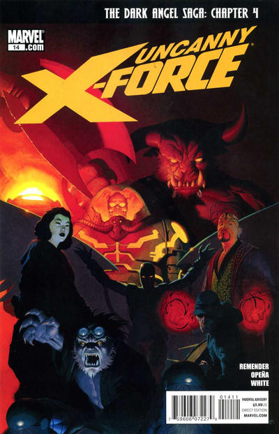 Cover for Uncanny X-Force (Marvel, 2010 series) #14