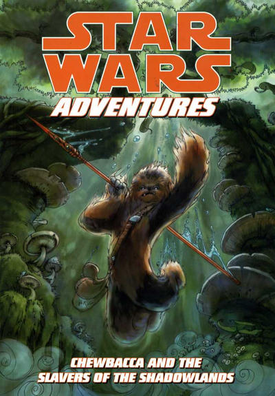 Cover for Star Wars Adventures: Chewbacca and the Slavers of the Shadowlands (Dark Horse, 2011 series)