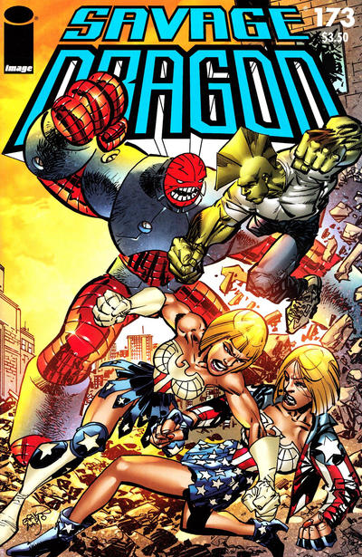 Cover for Savage Dragon (Image, 1993 series) #173