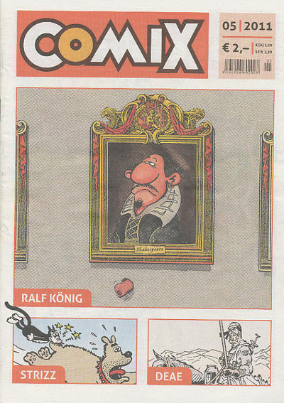 Cover for Comix (JNK, 2010 series) #5/2011