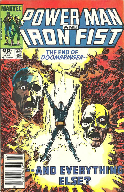 Cover for Power Man and Iron Fist (Marvel, 1981 series) #104 [direct]