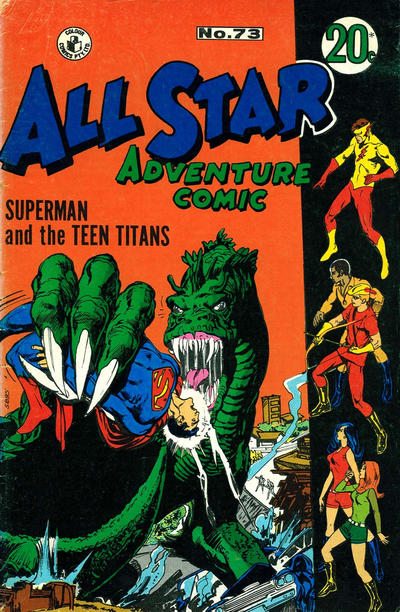 Cover for All Star Adventure Comic (K. G. Murray, 1959 series) #73