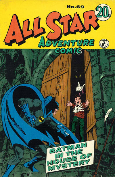 Cover for All Star Adventure Comic (K. G. Murray, 1959 series) #69
