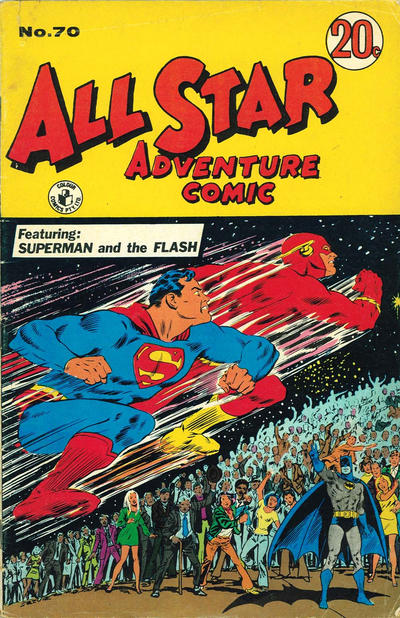 Cover for All Star Adventure Comic (K. G. Murray, 1959 series) #70