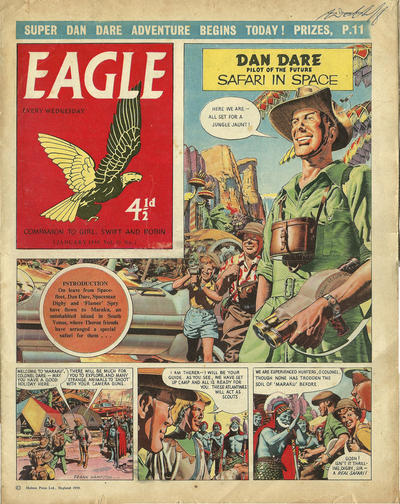 Cover for Eagle (Longacre Press, 1959 series) #v10#1