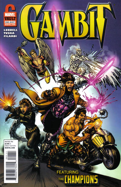 Cover for Gambit and the Champions: From the Marvel Vault (Marvel, 2011 series) #1