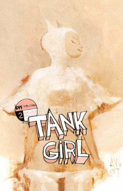 Cover for Tank Girl: The Gifting (IDW, 2007 series) #2 [Retailer Incentive]