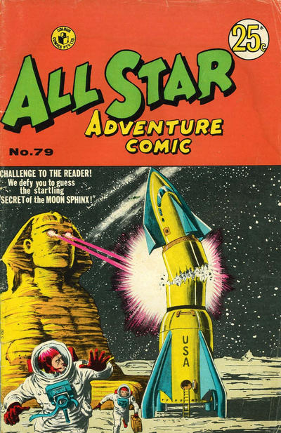 Cover for All Star Adventure Comic (K. G. Murray, 1959 series) #79