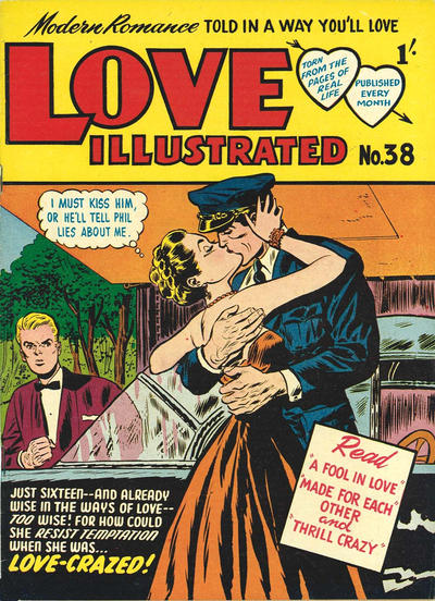 Cover for Love Illustrated (Magazine Management, 1952 series) #38