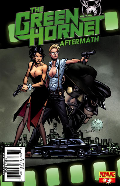 Cover for The Green Hornet: Aftermath (Dynamite Entertainment, 2011 series) #2