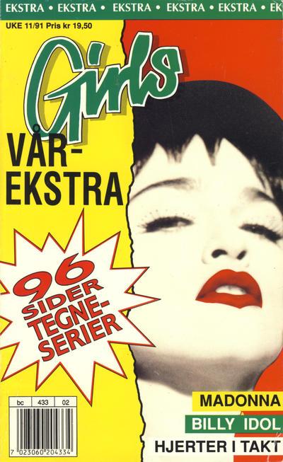 Cover for Girls ekstra (Hjemmet / Egmont, 1990 series) #Vårekstra 1991