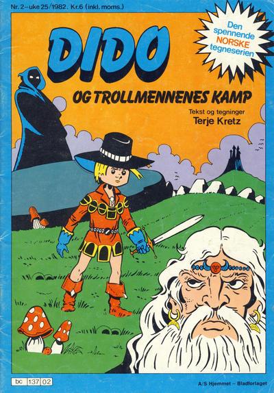 Cover for Dido (Hjemmet / Egmont, 1980 series) #2