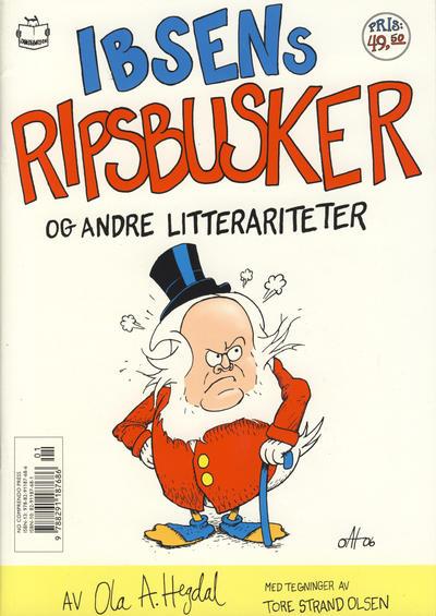 Cover for Ibsens ripsbusker og andre litterariteter (No Comprendo Press, 2006 series)