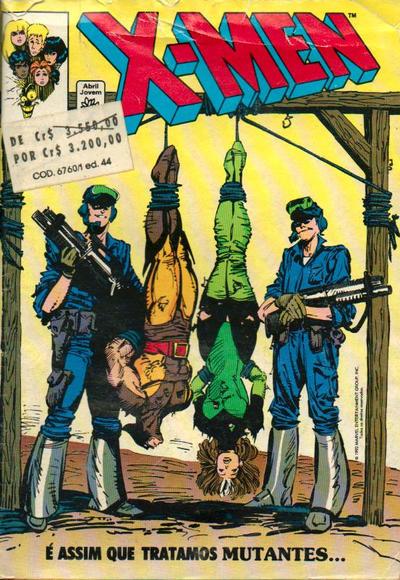 Cover for X-Men (Editora Abril, 1988 series) #44