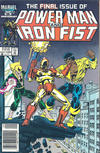 Cover for Power Man and Iron Fist (Marvel, 1981 series) #125 [newsstand]