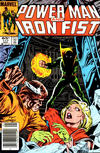 Cover Thumbnail for Power Man and Iron Fist (1981 series) #117 [newsstand 65¢ edition]
