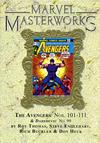 Cover for Marvel Masterworks: The Avengers (Marvel, 2003 series) #11 (162) [Limited Variant Edition]
