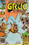 Cover for Sergio Aragonés Groo the Wanderer (Marvel, 1985 series) #4 [Newsstand Edition]