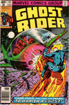 Cover Thumbnail for Ghost Rider (1973 series) #45 [Newsstand]