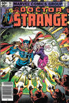 Cover for Doctor Strange (Marvel, 1974 series) #54 [Newsstand Edition]