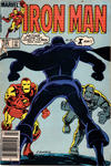Cover Thumbnail for Iron Man (1968 series) #196 [Newsstand]