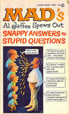 Cover for Mad's Al Jaffee Spews Out Snappy Answers to Stupid Questions (New American Library, 1968 series) #T4987