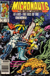 Cover for Micronauts (Marvel, 1984 series) #2 [Newsstand]