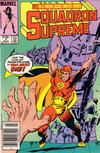 Cover for Squadron Supreme (Marvel, 1985 series) #7 [Newsstand]