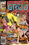 Cover for Sergio Aragonés Groo the Wanderer (Marvel, 1985 series) #28 [Newsstand Edition]