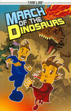 Cover for Timeline Graphic Novels (Houghton Mifflin, 2006 series) #[4] - March of the Dinosaurs