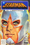 Cover for Starman El Libertario (Editora Cinco, 1970 ? series) #6
