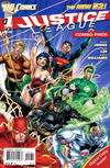 Cover for Justice League (DC, 2011 series) #1 [First Printing Combo-Pack]