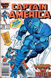 Cover for Captain America (Marvel, 1968 series) #318 [Newsstand Edition]