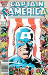 Cover Thumbnail for Captain America (1968 series) #323 [Newsstand Edition]