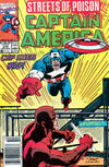 Cover for Captain America (Marvel, 1968 series) #375 [Newsstand Edition]