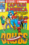Cover for Captain America Goes to War Against Drugs (Marvel, 1991 series) #1
