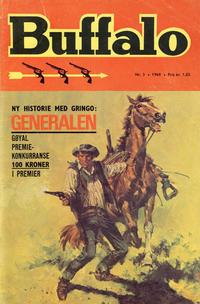 Cover Thumbnail for Buffalo (Romanforlaget, 1968 series) #3/1969