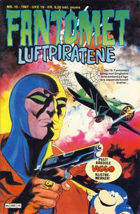 Cover Thumbnail for Fantomet (Semic, 1976 series) #10/1987