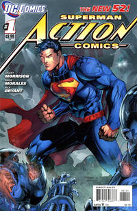Cover Thumbnail for Action Comics (DC, 2011 series) #1 [Incentive Cover Edition]