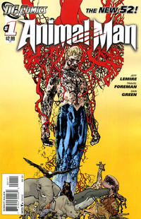 Cover Thumbnail for Animal Man (DC, 2011 series) #1