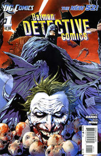 Cover Thumbnail for Detective Comics (DC, 2011 series) #1
