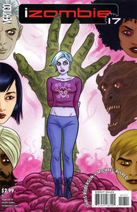 Cover Thumbnail for I, Zombie [iZombie] (DC, 2010 series) #17