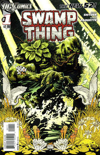 Cover Thumbnail for Swamp Thing (DC, 2011 series) #1