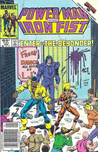Cover Thumbnail for Power Man and Iron Fist (Marvel, 1981 series) #121 [newsstand]