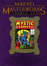 Cover Thumbnail for Marvel Masterworks: Golden Age Mystic Comics (Marvel, 2011 series) #1 (154) [Limited Variant Edition]